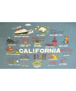 CALIFORNIA VINTAGE SERVING TRAY MOVIELAND UNIVE... - $19.98
