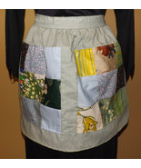 Half size patch quilt design apron IN STOCK - $20.00