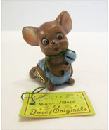 JOSEF ORIGINALS MOUSE VILLAGE RATTLES BABY MOUS... - $12.99