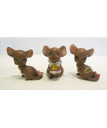 JOSEF ORIGINALS MOUSE VILLAGE VINTAGE LOT OF 3 ... - $7.99
