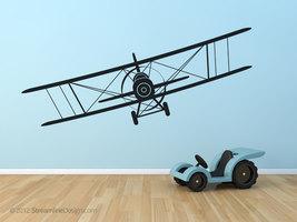 Giant Biplane Wall Art  60x18 - $24.95