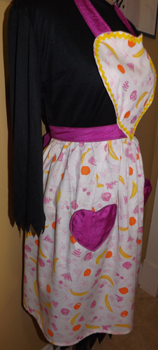 Full adult size fruit apron IN STOCK