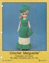 Marguerite, Td Creations Crochet Fashion Doll Clothes Pattern Booklet PR... - $5.95
