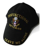 DYSFUNCTIONAL VETERAN VET EMBROIDERED CANVAS AD... - $10.81