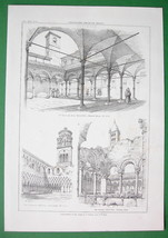 ARCHITECTURE PRINT : Italy Cloisters at Amalfi ... - $21.78