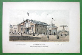 PHILADELPHIA Exhibition France French Building ... - $13.86