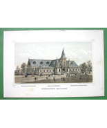PHILADELPHIA Exhibition Pennsylvania Building - 1876 Original Lithograph... - $13.86