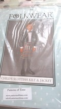 Folkwear Scottish Kilts For Children - $15.99