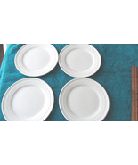 "Totally Today Bread & Butter Plates, 7 1/4"" Round, White Set Of 4 - $12.99"