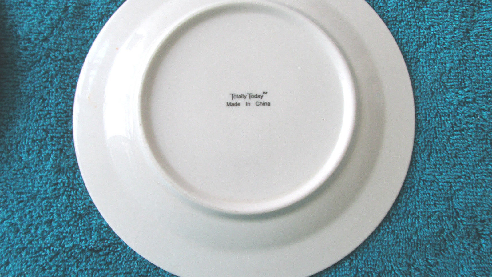 "Totally Today Bread & Butter Plates, 7 1/4"" Round, White Set Of 4"