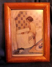 Standard Plumbing Girl In Tub Print - $9.99