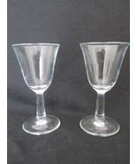 Plain Cordial Glasses  Set of two - $12.99