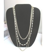 Vintage Pearl Bead and Gold Chain Necklace - $5.99