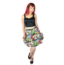 Classic Horror Movies Hollywood Monsters Skater Skirt - $39.95