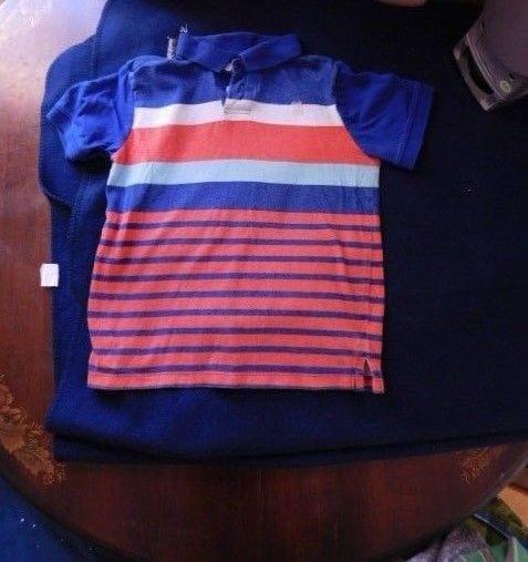 OshKosh B'Gosh Striped Boy's Shirt Size 12 - $4.99
