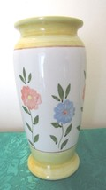 Yellow Floral Vase - Colorful! - $9.99