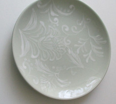 "ND Handpainted Salad Plate 8 1/4"" Light Green - $9.99"