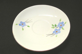 Handpainted Melba Bone China England Saucer Gold Trim - $4.99