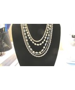 "Bead and Chain Necklace by ""Art"" - $5.99"