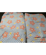 Handmade Crib Sheets 100% cotton Flat and Fitted Set - Flowered - $15.00