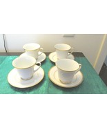 Contemporary Fine China Noritake Phillipines - Four cups and saucers - $15.99