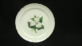 Eastern China 22k Gold Trimmed Lily Plate - $5.99