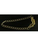 Vintage Napier Gold Tone Choker Style Necklace - $6.00
