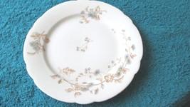 """Leonard Vienna Austria 7 1/2"""" Scalloped plate - Unstamped -Blue Daisies - $5.99"""
