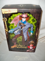 Alice in Wonderland Mad Hatter Barbie Doll Johnny Depp Mattel NRFB - $129.99