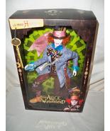 Alice in Wonderland Mad Hatter Barbie Doll Johnny Depp Mattel NRFB - $129.99