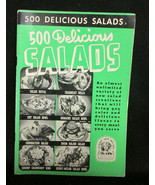 500 Delicious Salad Recipes Cookbook Ruth Berol... - $3.99