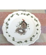 Birdhouse Plate with Cracked Glaze - $6.99