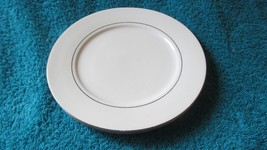 "Two Classic Made In China Platinum 7 1/2""  Bread and Butter Plates 4246 ... - $8.99"