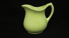Vintage Robinson Ransbottom RRP Pottery Pitcher Yellow Creamer - $5.99
