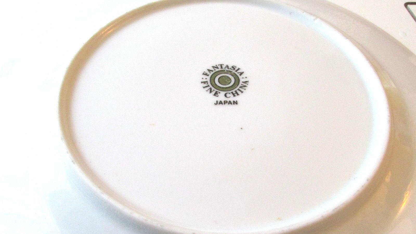 "Fantasia Florentine  Fine China Japan 10 1/4"" Dinner Plate Set of Three"