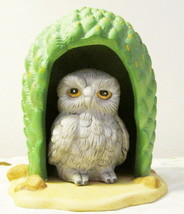 Woodland Surprises Owl in Cactus Jacqueline Smith 1984 - $8.99