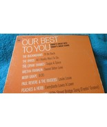 Our Best To You (Today's Great Hits Today's Great Stars) LP Columbia  Re... - $5.00