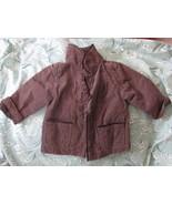 Infant / Toddler Girls Old Navy Jacket Brown Size 12-18 mos - $4.99