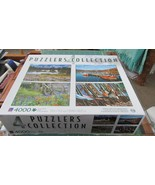 Four Puzzler Collection 4 -  1000 piece puzzles - $19.99