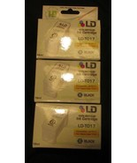 LD Recycled Ink Cartridges for Epson Stylus (Black) X3 - $4.99