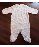Child Of Mine Carter's Infant Girl One-Piece Sleeper Pajamas Size 8-12.5... - $5.99