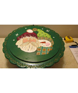 Twelve Inch Round Santa and Elf Cake or Sandwic... - $19.99