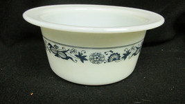 Corelle Old Town Blue  Onion Pyrex Butter Tub Crock Dish Sugar Snack Bowl No Lid - $4.99