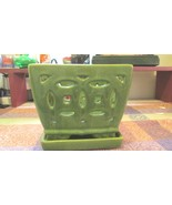 Open Cut Glazed Pottery Planter - $14.99