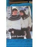 Patons Viking Nordic style Handknits No. 17620 Susan Bates 1982 - $4.99
