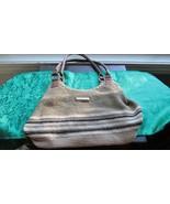 Rosetti Woven Tan Shoulder Bag Shades of Browns - $12.99