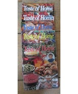 5 Issues Taste of Home Cooking Magazine  1996 - $8.99