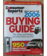 Consumer Reports Magazine Buying Guide Issues 2006 & 2007 Plus Bonus - $6.99