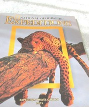 National Geographic Expeditions 2001 Travel Catalog Set of Two - $5.99