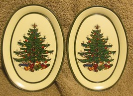 Keller Charles Tiny Oval Tin dishes - Christmas... - $6.99